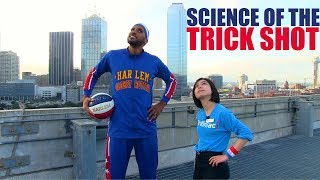 Trick Shots and Science! The Magnus Effect | Harlem Globetrotters