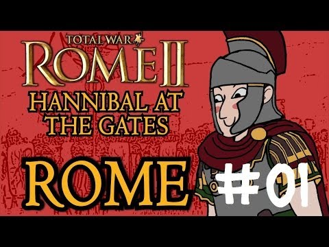 Total War: Rome 2 - Hannibal at the Gates - Rome Campaign - Part One! - 동영상