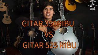 Adu Gitar 350.000 VS Gitar 525.000 | Menang Mana Yaaaa???