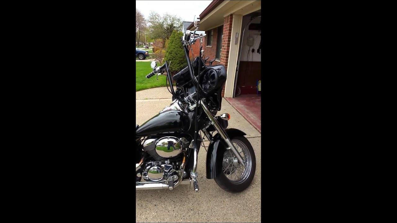Honda Shadow Bagger Youtube