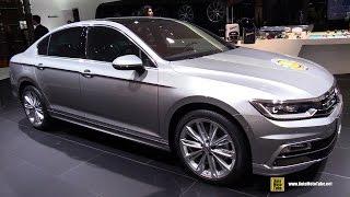 2015 Volkswagen Passat TSI R-Line - Exterior, Interior Walkaround - 2015 Geneva Motor Show