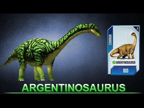 Jurassic World ARGENTINOSAURUS Nivel 30
