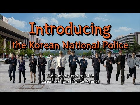 The 71st Korean National Police Agency PR video