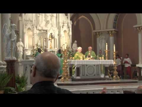 Sr  Elizabeth Greim's Farewell Mass 2015
