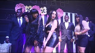 FULL VIDEO: WOLPER, HARMONIZE,SARAH, ESMA PLATNUMZ, SHILOLE Walivyo Sherehekea BDay Party ya WOLPER