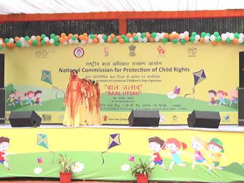 National Commission For Protection of Child Rights The Occasion of Universal Children'Day Organises