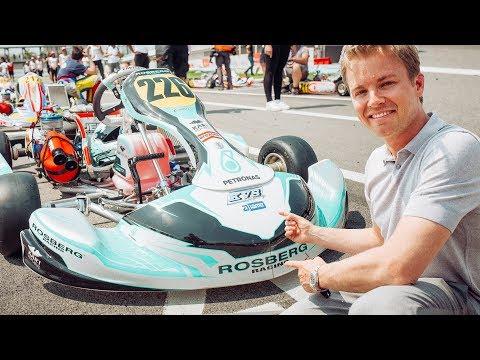 LAUNCHING MY GO KARTING ACADEMY | NICO ROSBERG | RACEVLOG