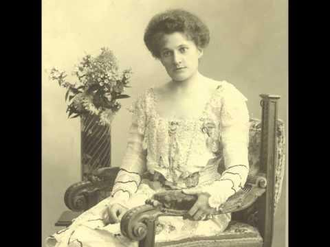 Veronika Behr therese behr schnabel recording of 1904 robert schuman song ich