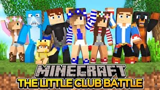 Minecraft-Little Carly Facecam-THE LITTLE CLUB KILL EACH OTHER!!