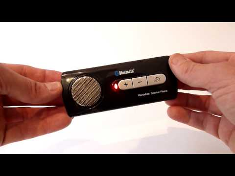 Cyber Blue Bluetooth Hands free Speakerphone  - Quick Review from Metro3online