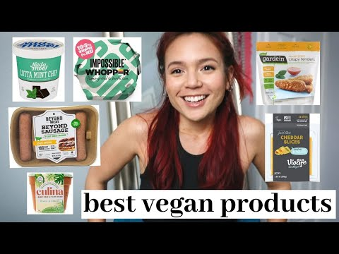 my FAVORITE vegan products // the best vegan meat, cheese, snacks and more