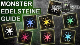 Monster Hunter World: Monster Edelsteine Guide (Deutsch/German)