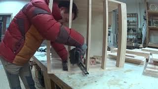Diy 목공 고무나무 책상 만들기