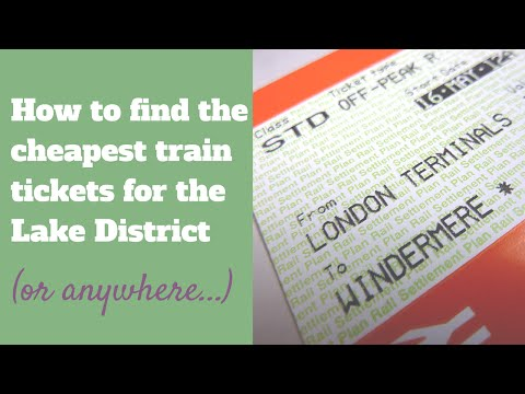 How to find cheap train tickets for the Lake District
