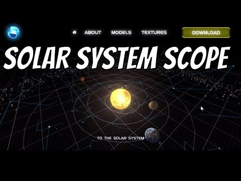 Check Out Solar System Scope - Free Space Simulation In Your Browser