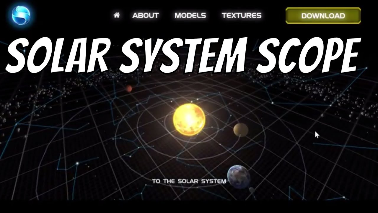 Check Out Solar System Scope - Free Space Simulation In ...