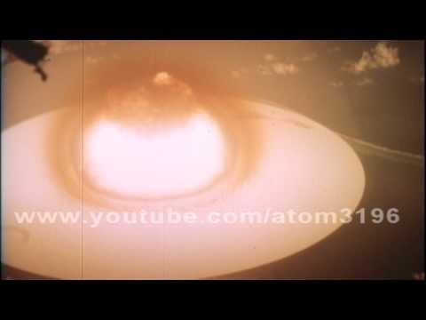 HD Redwing Navajo 4.5 Mt atomic bomb hydrogen bomb 1956