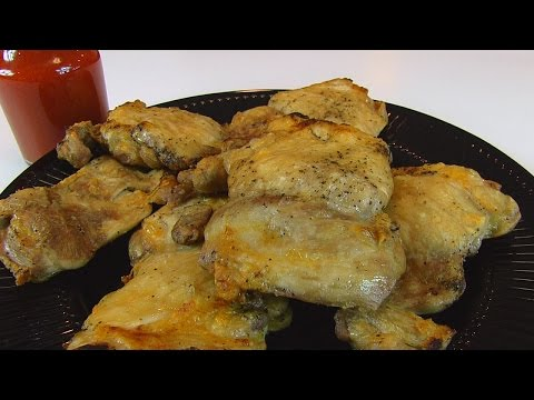 Betty's Baked Boneless, Skinless Chicken Thighs With Light-Tasting Buffalo Sauce  --  Super Bowl