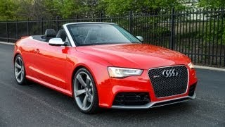 2013 Audi RS5 Cabriolet - WR TV POV Test Drive
