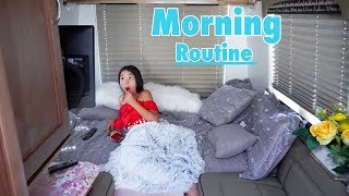 My Morning Routine Living In A Van | Txunamy
