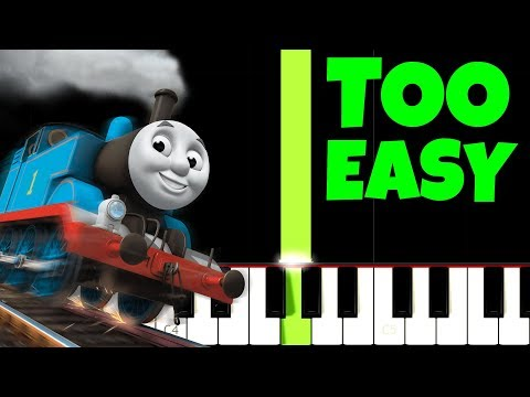 Thomas The Tank Engine, but it's TOO EASY, I bet 1.000.000$ You Can PLAY THIS!