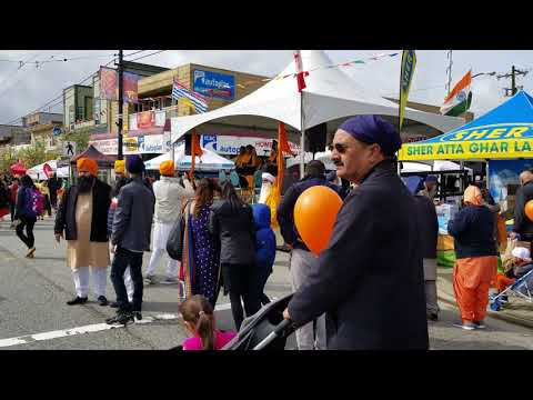 Vancouver WALK & EVENT: A STROLL ALONG MAIN STREET DURING VAISAKHI FESTIVAL Saturday, April 14, 2018