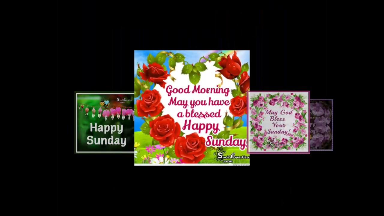 Happy Sunday By Smitcreationcom Youtube