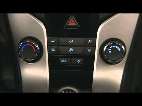 How To Use Climate Controls Chevy Cruze Youtube