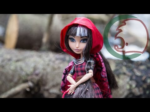 Обзор куклы (распаковка) Cerise Hood (Красная шапочка)