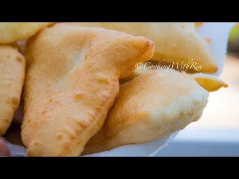 HOW TO MAKE FRIED BAKES | SOFT & FLUFFY