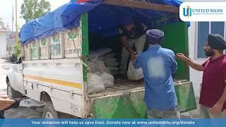 Food kits donated in Jammu