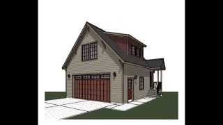 360 View Movie Carriage Garage House Plan Cga 106