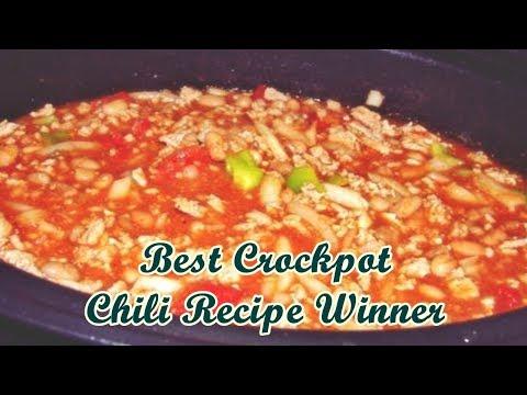 Best Crockpot Chili Recipe Winner