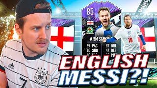 THE ENGLISH MESSI?! 85 WHAT IF ARMSTRONG PLAYER REVIEW! FIFA 21 Ultimate Team