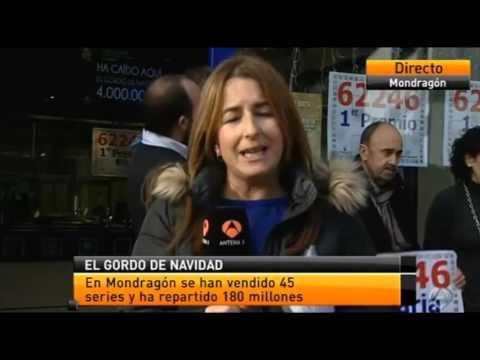 """RESUMEN DE NOTICIAS TELEVISIVAS SOBRE """"EL GORDO"""" EN LEGANÉS (MADRID)"""