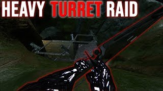 SOLO RAIDING TURRET BASES  - ARK SMALL TRIBES PVP #9