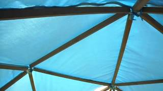Купольная беседка. Садовый шатер(, 2015-09-19T14:49:26.000Z)