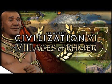 Fall of the Forbidden City | Civilization VI — 8 Ages of Khmer 25 | Terra Emperor