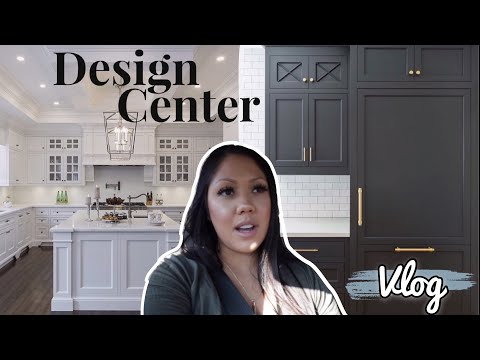 NEW HOME🏡: DESIGN CENTER APP. | PICKING OUT KITCHEN CABINETS & FLOORING