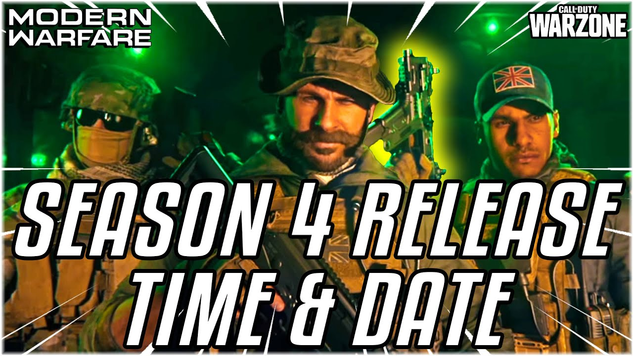 Call of Duty: Modern Warfare Season 4 launches today with Captain ...