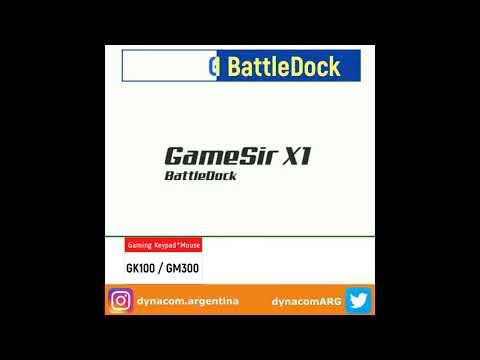 Gamesir X1 - Conversor Teclado/Mouse para celulares Android-iOS