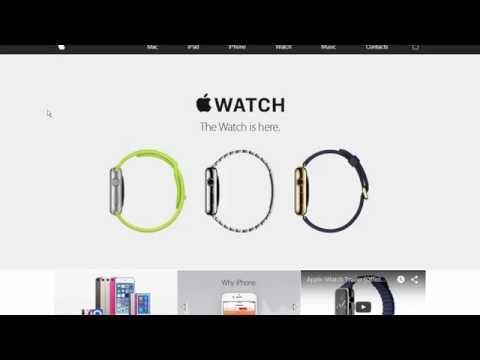 Criador de Sites - Criando um site completo estilo Apple.com
