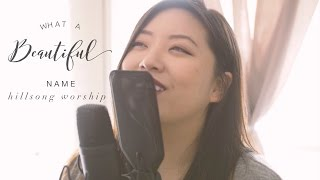 What a Beautiful Name (cover) - Hillsong Worship by Jennifer Chung ft. Josh Fu from The Fu Music