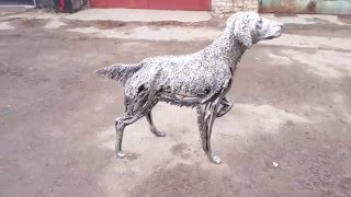Скульптура «Собака»