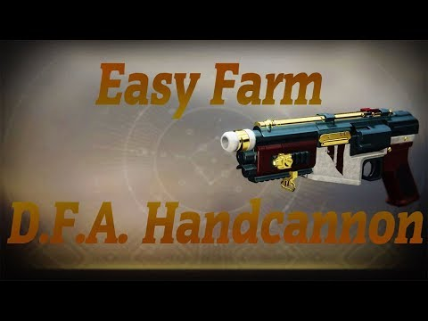 Easy Farm The D.F.A Hand Cannon In The Tree Of Probabilities Nightfall
