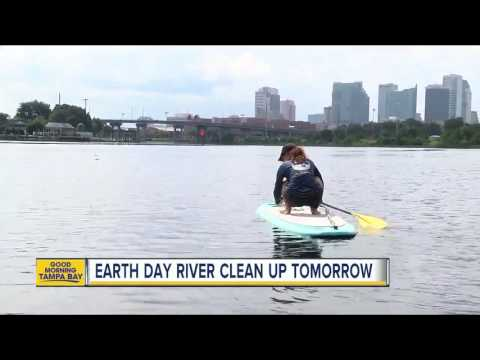 Earth Day River Clean Up on Saturday