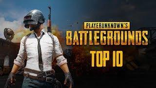 TOP 10 Playerunknown s Battlegrounds 4