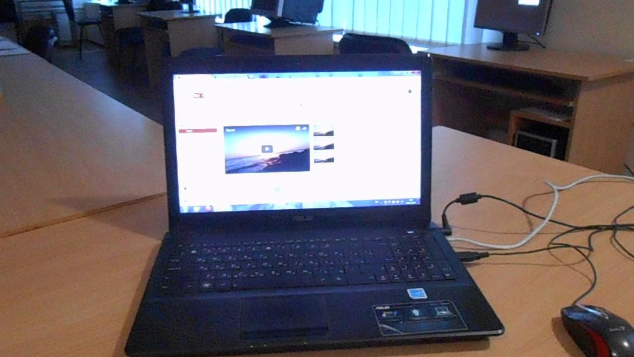 Laptop Asus X52N: overview, description, technical specifications