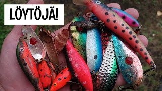 I FOUND LOT OF FISHING LURES