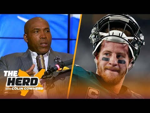 Former Eagles LB Seth Joyner talks Carson Wentz, previews Thursday Night Football | NFL | THE HERD